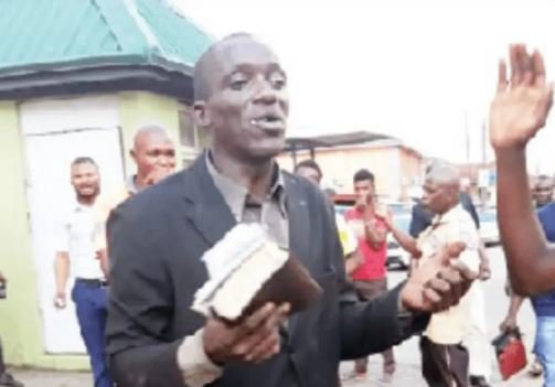 "Photo of ""Evangelist Beaten Mercilessly For Stealing Two Phones"""