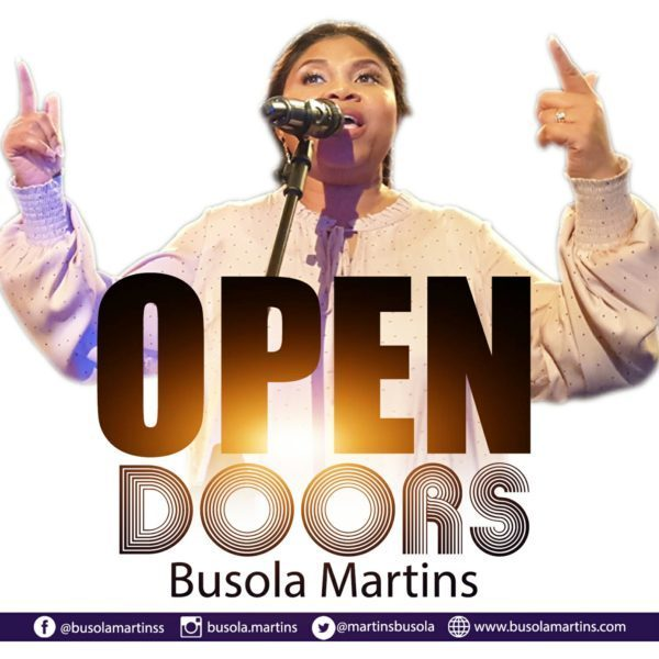 Photo of DOWNLOAD Music: Busola Martins – Open Doors