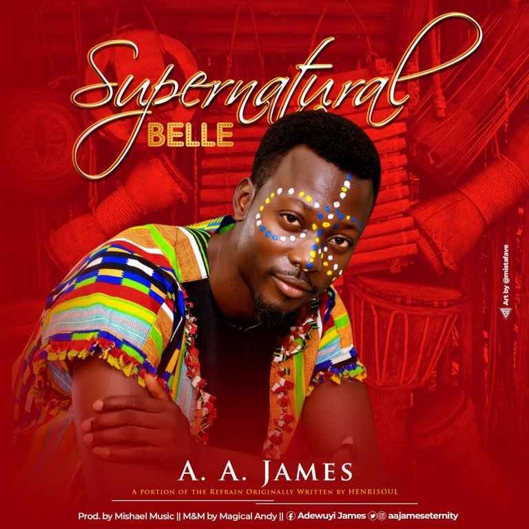 Photo of [MUSIC] A.A. James – Supernatural Belle