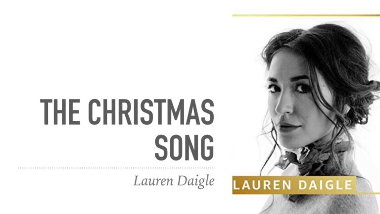 Lauren Daigle – The Christmas Song