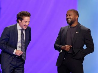 'The Only Superstar Is Jesus': Kanye West Speaks At Joel Osteen's Lakewood Church