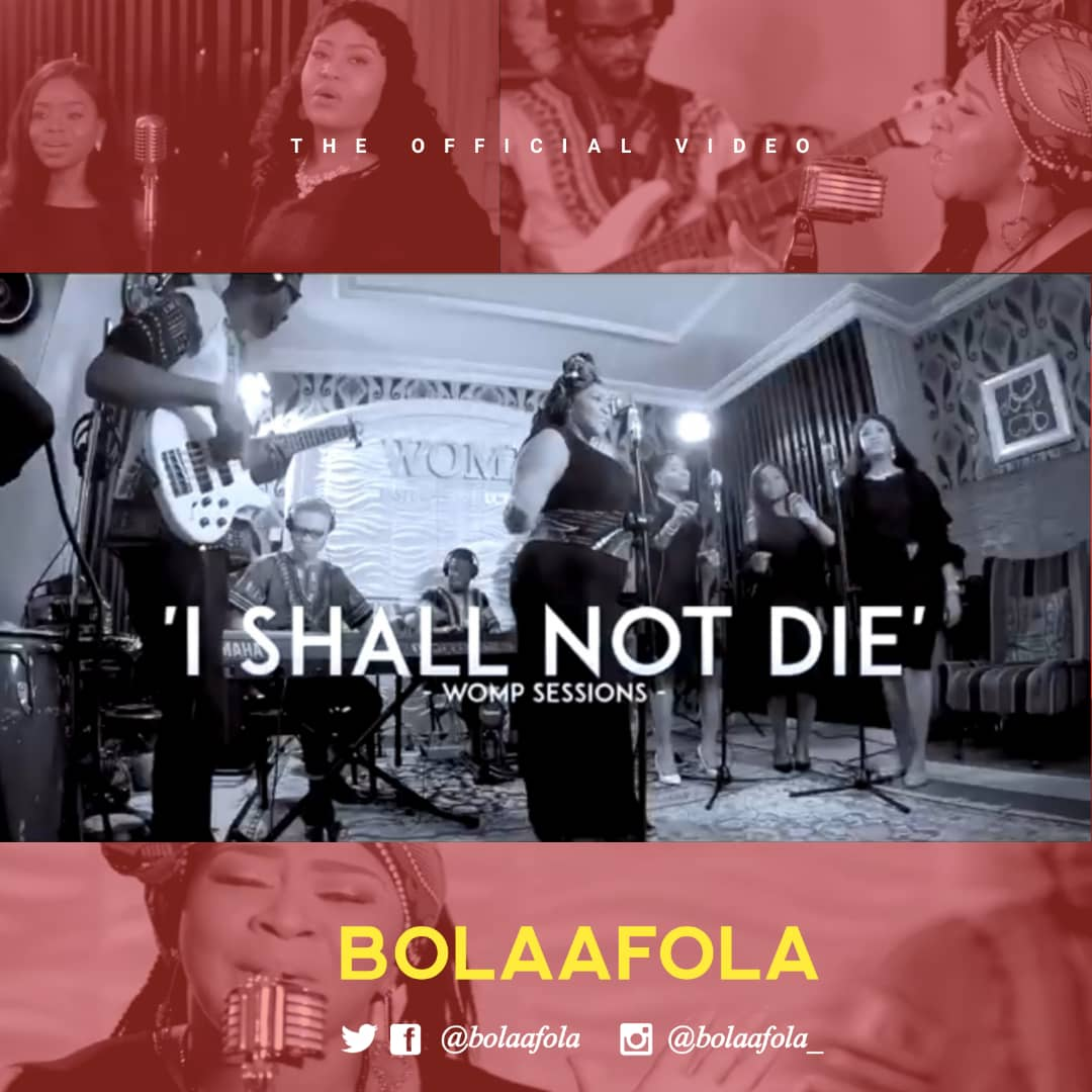 Bolaafola I Shall Not Die Video