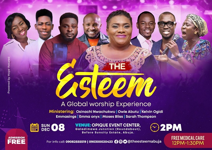 Frank Edwards, Owie Abutu, And Others Set For The Esteem 2019 In Abuja