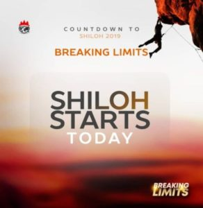 Programme Schedule For Shiloh 2019 [Breaking Limits]