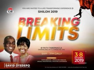 Watch LIVE: SHILOH 2019 Day 2 Hour Of Visitation – Wed. 4th December