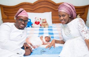 Damilola, Son Of Mike Bamiloye's Welcomes A New Daughter With His Wife