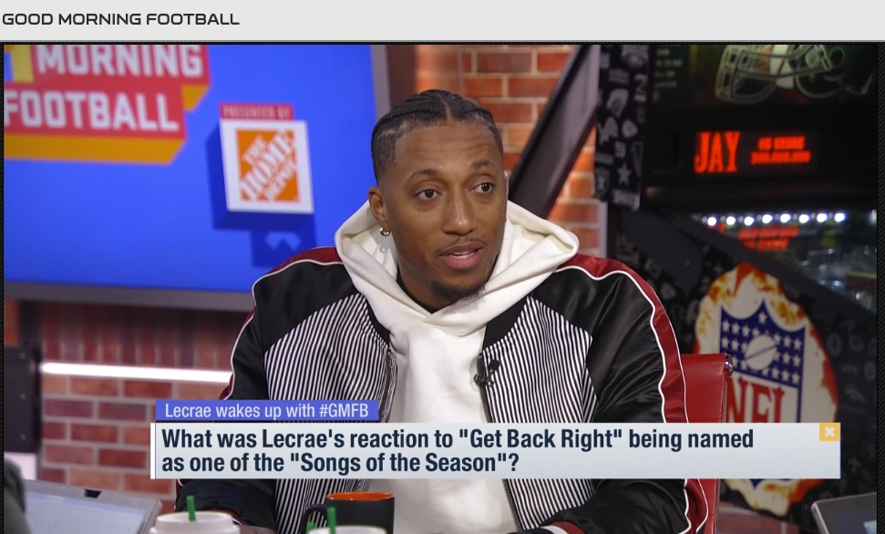 """Get Back Right"" NFL Announces Lecrae Single Selected For Song Of The Season"