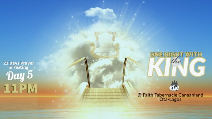 """Live Stream: Winners Chapel """"One Night With The KING"""" Year 2020"""