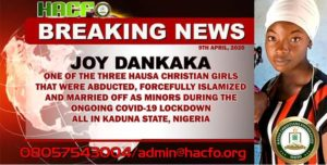 Christian Girls Forcefully Converted To Islam Amidst COVID-19 Lockdown