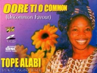 Tope Alabi oore ti o common mp3 Download