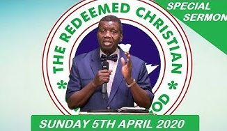 Redeemed Christian Church of God Sunday Service Live (5th April 2020)