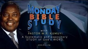 Deeper Life Monday Bible Study Live Streaming (27th April 2020)
