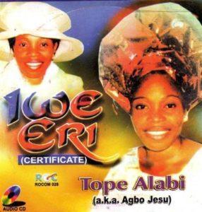 Tope Alabi Iwe Eri Mp3 Download