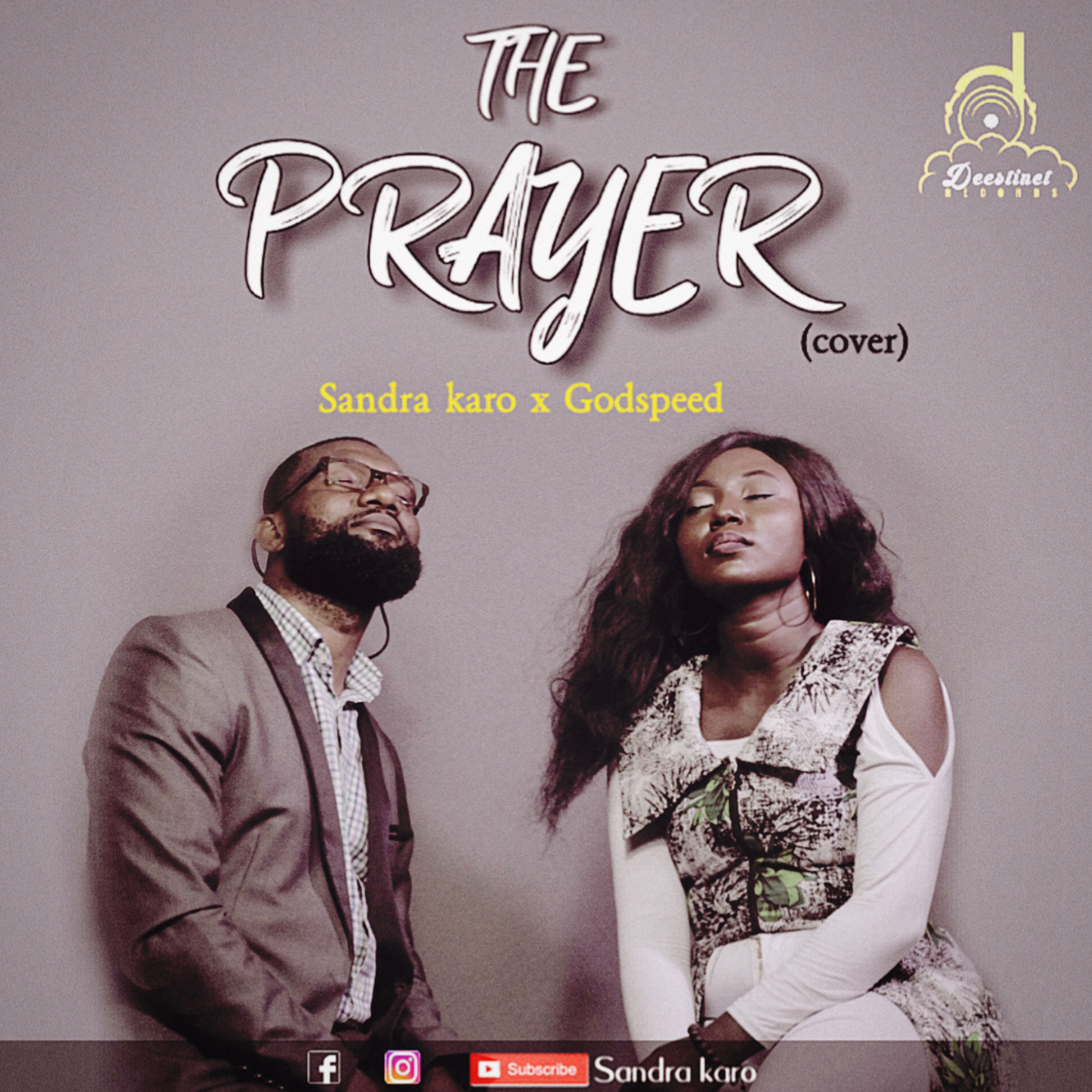 Sandra Karo ft Godspeed The Prayer (cover)