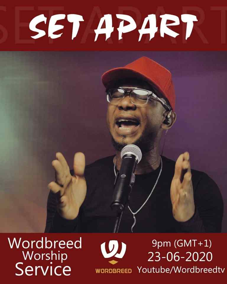 Photo of Chris Shalom & Wordbreed – Set Apart (Wordbreed Worship Service)