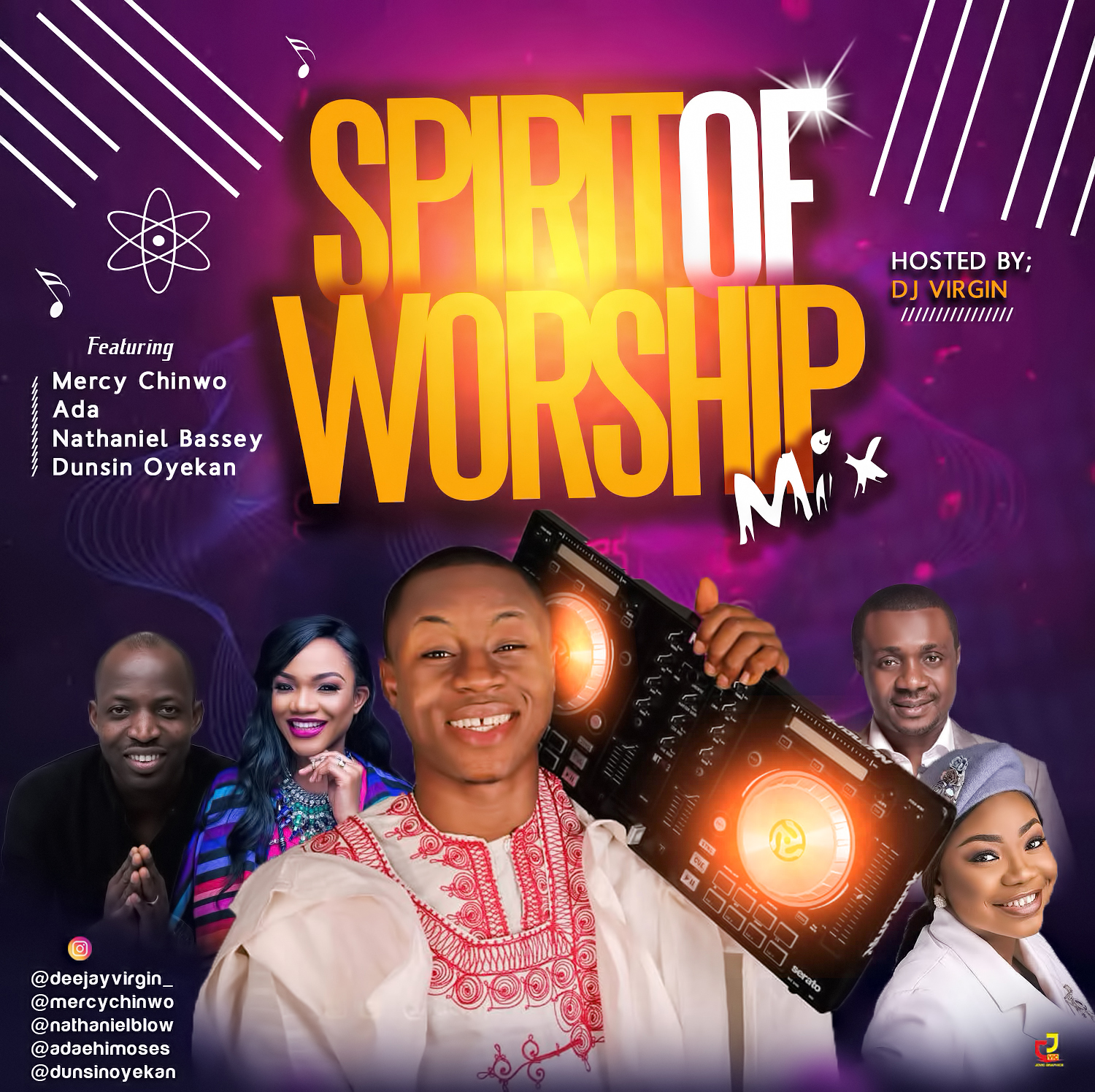 "DJ Virgin Releases New Mixtape ""Spirit of Worship"""