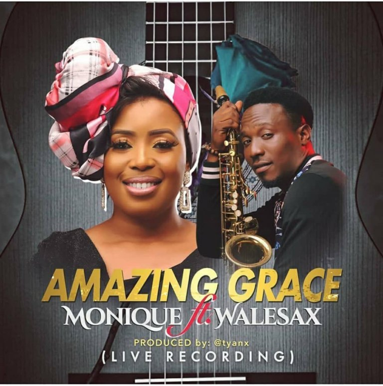 Photo of MoniQue – Amazing Grace (ft. Wale Sax)