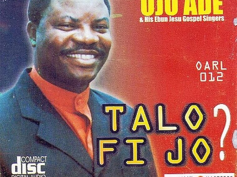 "Download Evangelist Ojo Ade album ""TA LO FI JO"""