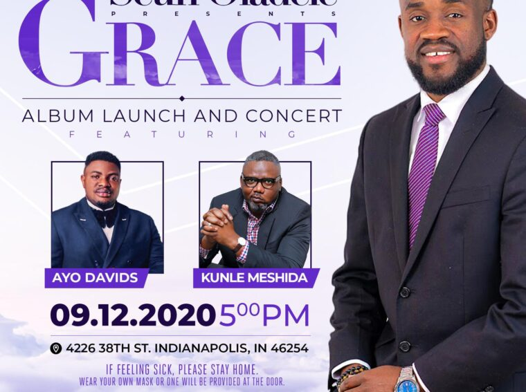 Seun Oladele set to releases his first album launch concert GRACE 12th September 2020