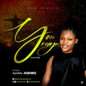 You Reign by Ayodele Adenike