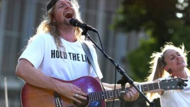Photo of Sean Feucht – High And Lifted Up (King Jesus)