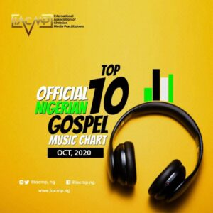 IACMP Nigeria Gospel Music Top 10 Chart October 2020