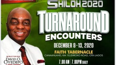 Photo of Shiloh 2020 Turnaround Encounters Day 2 LIVE Stream