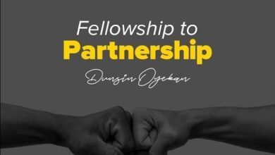 Dunsin Oyekan Fellowship to Partnership VIDEO