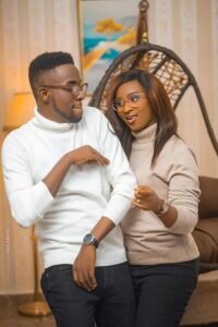 GUC and Nene Ntuk pre-wedding picture